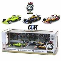 GREENLIGHT 10856 2019 Indianapolis 500 Podium 3-Car Set Diecast IndyCars 1:64