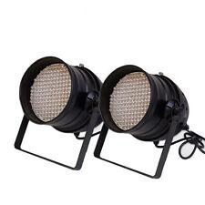 2x 177 LED LIGHT RGB PAR64 DJ DMX 6 Channel PARTY Band DISCO STAGE Lighting PAIR