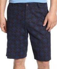 Tasso Elba Île Homme Shorts Taille 34 Bleu Marine Imprimé devant Plat