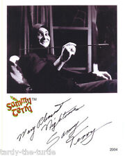 Sammy Terry  Autograph Reprint   Horror Theater Host Indianapolis,  Indiana