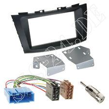 Suzuki Swift Autoradio 2-DIN Einbaurahmen Radioblende ISO Adapterkabel Einbauset
