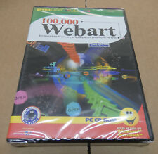 100,000 Webart   Green Street PC CD-Rom   New/sealed  (CA6)