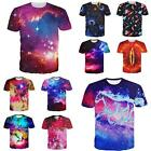 Fantastic Galaxy Space Cosmos Universe Art Graphic Women Men T Tee Shirt Casual
