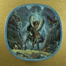 Visions of the Sacred Thunderbird Plate #6 Native American Indian + Coa Elk Bear