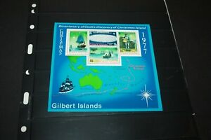 GILBERT ISLANDS:1977 SC#303A S/S Stamps MNH  Christmas