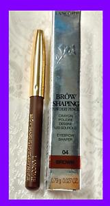 Lancome BROW SHAPING POWDERY PENCIL Eyebrow Shaper Powder Filler 04 BROWN ~ Mini