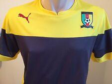 Cameroon Shirt Training Jersey Gr. L Kamerun Herren Trikot Gelb Puma
