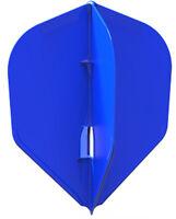 Blue L-Style Small Standard L3c Plain Champagne Flights