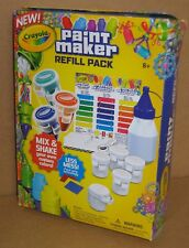 2014 Crayola Paint Maker Refill Pack New Sealed