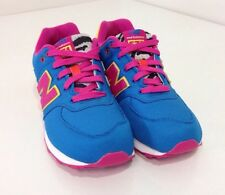 NEW BALANCE CLASSIC TRAINER SNEAKERS KL5742PG FUSHCIA/MULTICOLOR SIZE 5 NEW