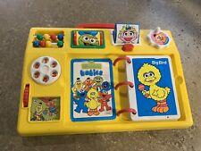 Sesame Street Babies Baby Activity Toy Tyco Vintage Yellow Activity Center Euc
