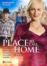 A Place to Call Home: Season 3 (DVD, 2016, 3-Disc Set) (LN)