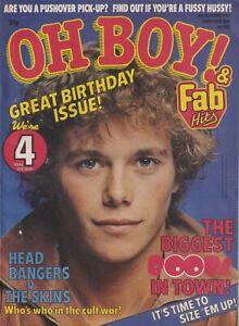OH BOY magazine # 200 (6 Dec 1980) - Gary Numan