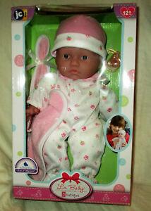 JC Toys La Baby 11 inch Washable Soft Body Play Doll NEW IN BOX!!