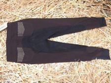Schwarze Reithosen-Vollbesatz Damen-Fahrradshorts in Größe 44