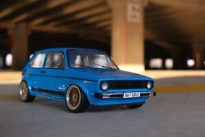 RC Karo VW Golf MK 1 GTI 1/10 scale body to fit Tamiya LRP HPI Yokomo, MST Drift