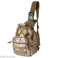 Shoulder Military Tactical Backpack Camping Travel Hiking Trekking Bag Outdoor