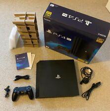 Sony PlayStation 4 Pro-PS4 Pro, Consola 1TB, Negro, En Caja, Buen Estado