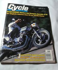 Vintage Cycle Magazine February 1980  Suzuki GS100ET Motorcraft Stars How Tough?