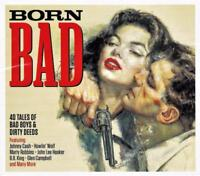BORN BAD - 40 Tales Of Bad Boys & Dirty Deeds - VARIOUS ARTISTS (NEW SEALED 2CD)