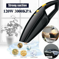 120W High Power Rechargeable Cordless Wet&Dry Portable Car Home Vacuum Cleaner E