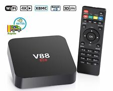TV INTERNET Smart TV Box Caja Android Quad Core Media Player WIFI 4K TELEVICION