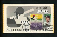 US Postal History Sports Baseball Ripken Game Record 1995 Baltimore MD #855+1381