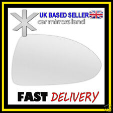 Right Driver Wing Car Mirror Glass CONVEX VAUXHALL CORSA D 2006-2014