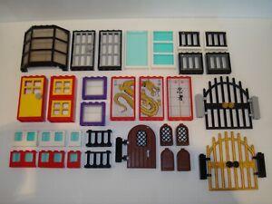 Lego - Windows/Doors/Walls/Gates/ Accessories - Multiple Variations!