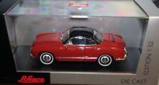 Voitures, camions et fourgons miniatures rouge pour Volkswagen 1:32