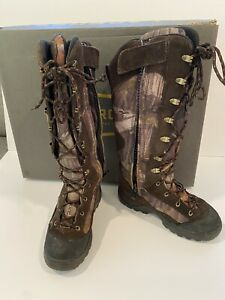 Lacrosse Youth Venom Scent HD Camo Hunting Boots Sz 5.