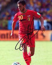 Eden Hazard-Chelsea & Bélgica-reimpresión firmado autógrafo