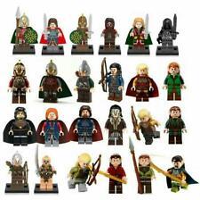Lord Of The Rings Minifigures Hobbit Frodo Sam Gandalf Sauron Saruman Orc Elf