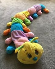 Animal Alley 5ft Long Soft Fluffy Caterpillar Plushie
