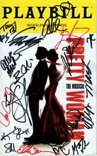 PRETTY WOMAN Signed CAST Playbill w/ Hologram COA