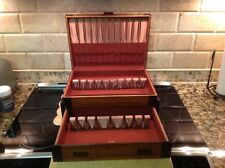 Vintage Silverwre Chest Two Drawers Service For 12