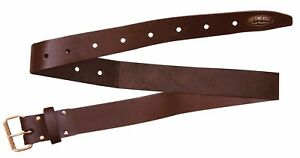 """Cutting Edge 2"""" Oil Tanned Leather Brown Belt"""