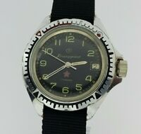 Komandirskie Zakaz MO USSR Military Soviet mechanical wristwatch VOSTOK