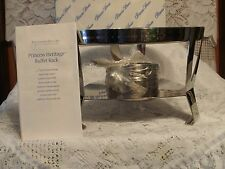 Princess House (Heritage) 2 Piece Buffet Server Base With Sterno Holder #6409 BN