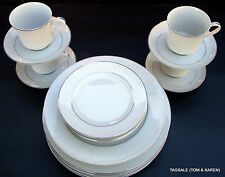 20 PIECE SET ~ LOVELACE by CROWN VICTORIA FINE CHINA ~ JAPAN ~ DINNER FOR 4