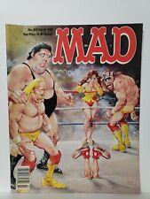 Mad Magazine #285 Hulk Hogan Andre The Giant Randy Savage March 1989 Magazine