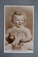 R&L Postcard: HRH Prince Edward of Kent as a Child, Marcus Adams, Valentines