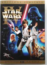 Dvd Star Wars Episodio 4 IV - Una Nuova Speranza ed. limitata 2 dischi Usato