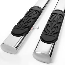 """6""""Stainless Steel Step Bar Running Board for 99-16 Silverado/Sierra Double Cab"""