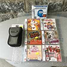LOTTO  7 GIOCHI GAMES+ NINTENDO DS CARRYING CASE CUSTODIA NO CONSOLE