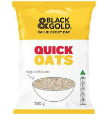 Black & Gold Quick Cooking Oats 750gm