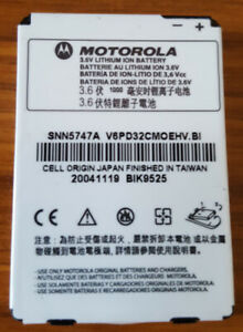 Genuine Motorola SNN5747A Battery For MPX220