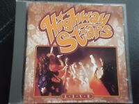 HIGHWAY   STARS     -   LIVE  1971-1979 ,    CD   1993,      SWEDEN  GLAM  ROCK