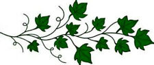 20 Water Slide Nail Art Decal Transfers Green Ivy 3/8 Inch