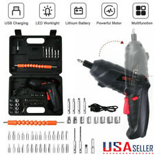 45-in-1 Rechargeable Wireless Cordless Electric Screwdriver Drill Set Power Tool